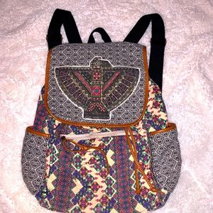 Boho Backpack.